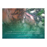 Serenity Prayer Madrone Invitation 13 Cm X 18 Cm Invitation Card