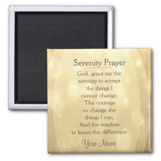 Serenity Prayer Magnets