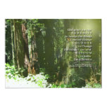 Serenity Prayer Memorial Invitation 13 Cm X 18 Cm Invitation Card