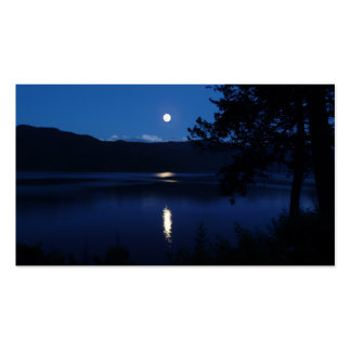 Serenity Prayer Moon Lake Pack Of Standard Business Cards