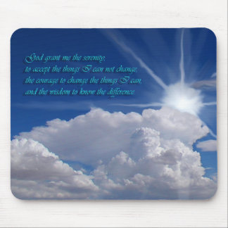 Serenity prayer mousepad1nf mouse mat