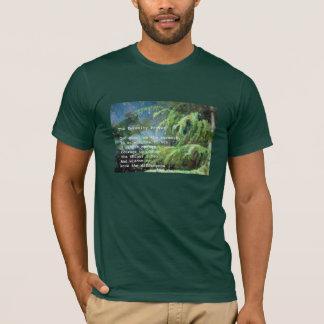 Serenity Prayer on Pines T-Shirt