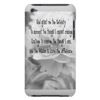 Serenity Prayer Peony Barely There iPod Case