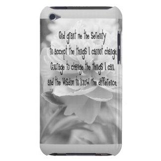 Serenity Prayer Peony iPod Case-Mate Case