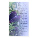 Serenity Prayer Purple Tulip Profile Card