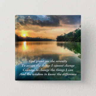 Serenity Prayer Scenic Button