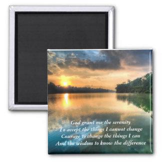Serenity Prayer Scenic Magnet