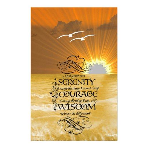 Serenity Prayer Stationery
