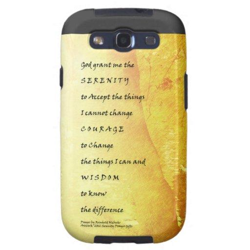 Serenity Prayer Tree and Ducks Samsung Galaxy SIII Cover