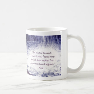 Serenity Prayer  Waterfalls Mug