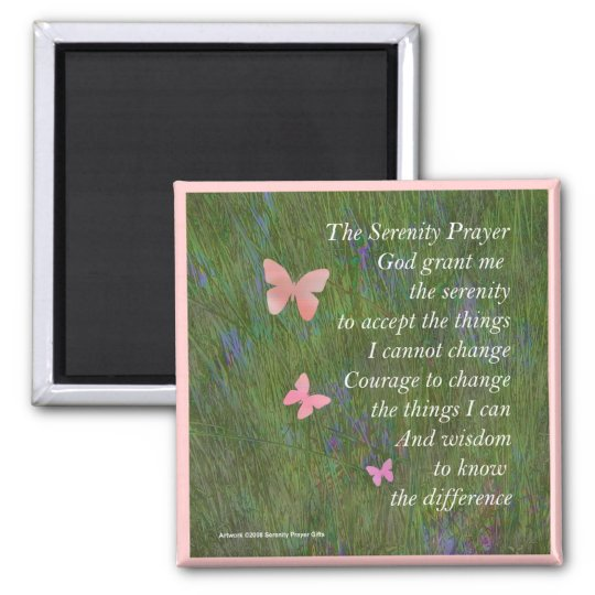 Serenity Prayer Wetlands Magnet