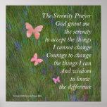 Serenity Prayer Wetlands Poster