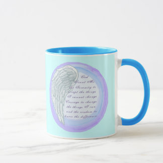 Serenity Prayer Wing Mug