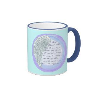Serenity Prayer Wing Coffee Mug