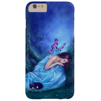 Serenity Sleeping Fairy & Kitten iPhone 6 Plus Barely There iPhone 6 Plus Case