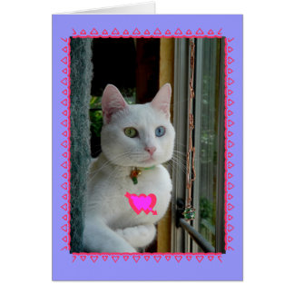 Serenity smile Valentine Card - Customised