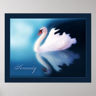 Serenity - Swan Poster