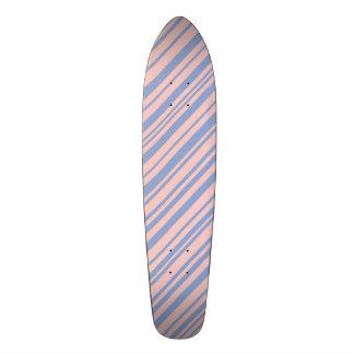 Serenity with Rose Quartz designer stripes Custom Skateboard