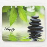 """Serenity"" Zen Rocks Mousepad"