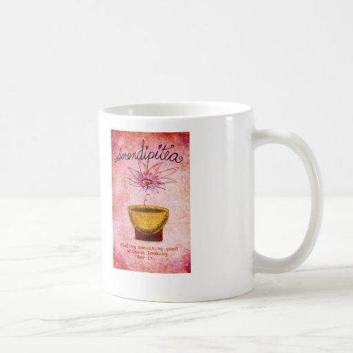 SerentipiTEA February 19 What my Tea says to me Coffee Mug