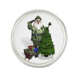 Sergeant Santa Claus Lapel Pin