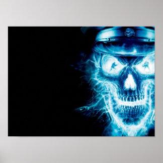 """Sergeant Skull"" posters"