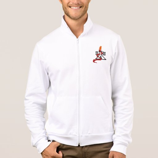 SergiuHellDragoon California Fleece Zip Jogger Jacket