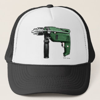 serial-driller trucker hat