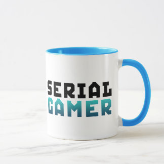 Serial Gamer Funny Geek Mug