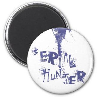 Serial Hunter 6 Cm Round Magnet
