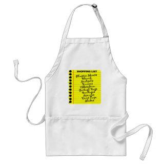 Serial Killer Shopping List! Standard Apron