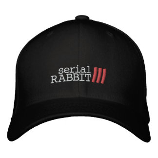 Serial Rabbit 3 Hat Embroidered Hat