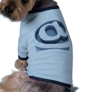 Serie @ dog t-shirt