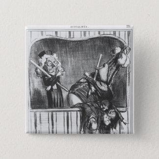 Series 'Actualites', The new Neapolitan 15 Cm Square Badge