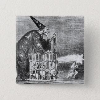 Series 'La Comete de 1857' 15 Cm Square Badge