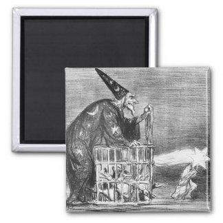 Series 'La Comete de 1857' Square Magnet