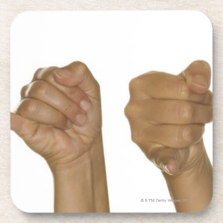 Series of hands making J sign Coaster