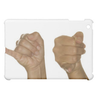 Series of hands making J sign iPad Mini Cases