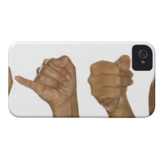 Series of hands making J sign iPhone 4 Cover