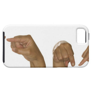 Series of hands making Z sign iPhone 5 Cover