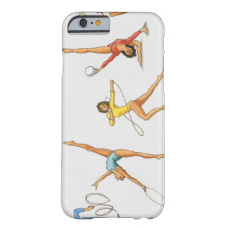 Series of illustrations showing rhythmic barely there iPhone 6 case