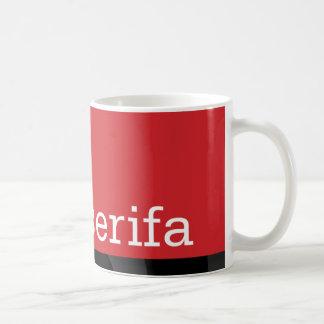 Serifa Typeface Mug