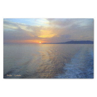"""Serifos – Cyclades 10"""" X 15"""" Tissue Paper"""
