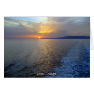 Serifos – Cyclades Greeting Cards