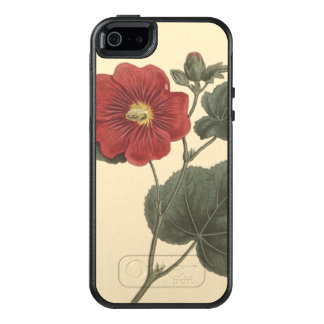 Seringapatam Hollyhock Botanical Illustration OtterBox iPhone 5/5s/SE Case