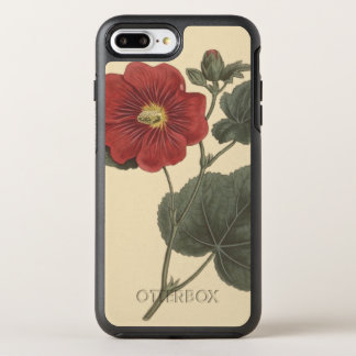Seringapatam Hollyhock Botanical Illustration OtterBox Symmetry iPhone 7 Plus Case