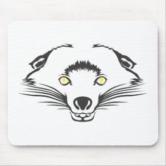Serious Bearcat Mouse Pad
