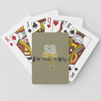 """Serious Business Entertainment """"All Work No Play"""" Playing Cards"""