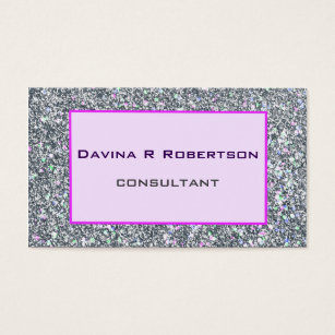Bling business cards business card printing zazzle uk serious but fun businesswoman bling business card colourmoves