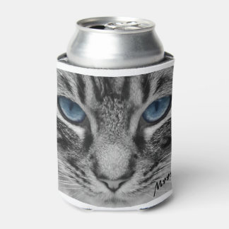 Serious Cat with Blue Eys Customizable